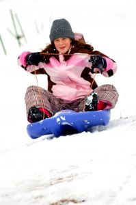 sledding in pagosa springs