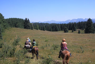 pagosa springs horseback riding