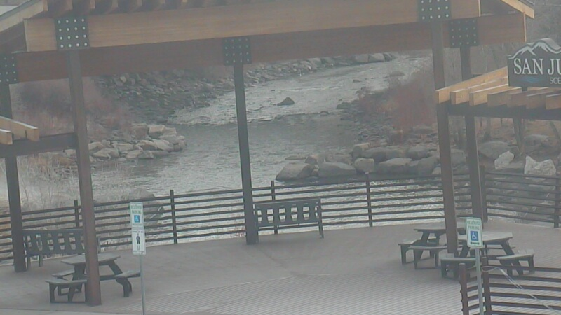 San Juan River webcam