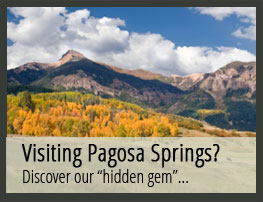 pagosa springs visitor information